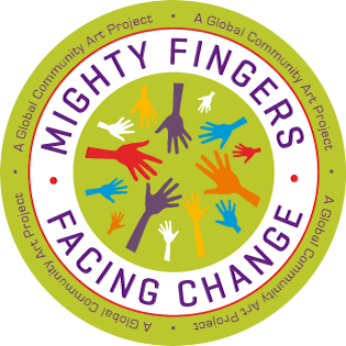 Mighty Fingers Facing Change, A Global Community Art Project